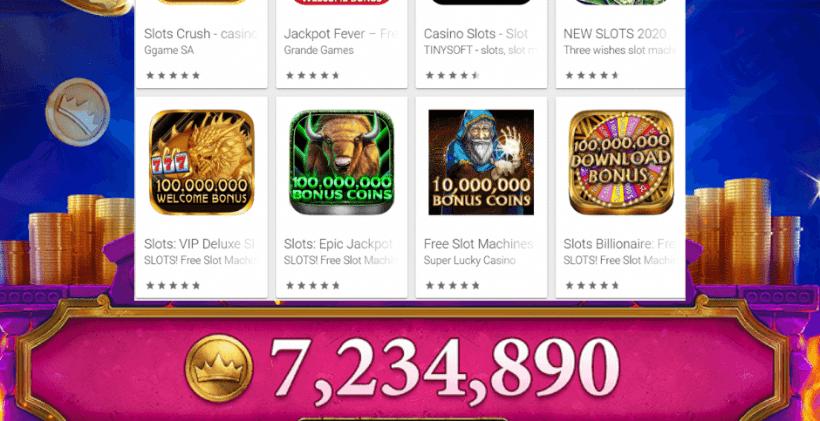 Best Slot App With Bonus Games